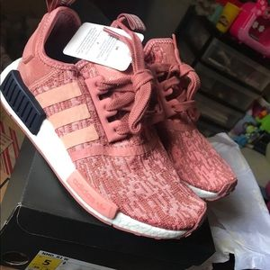 Raw pink nmd for woman size 5